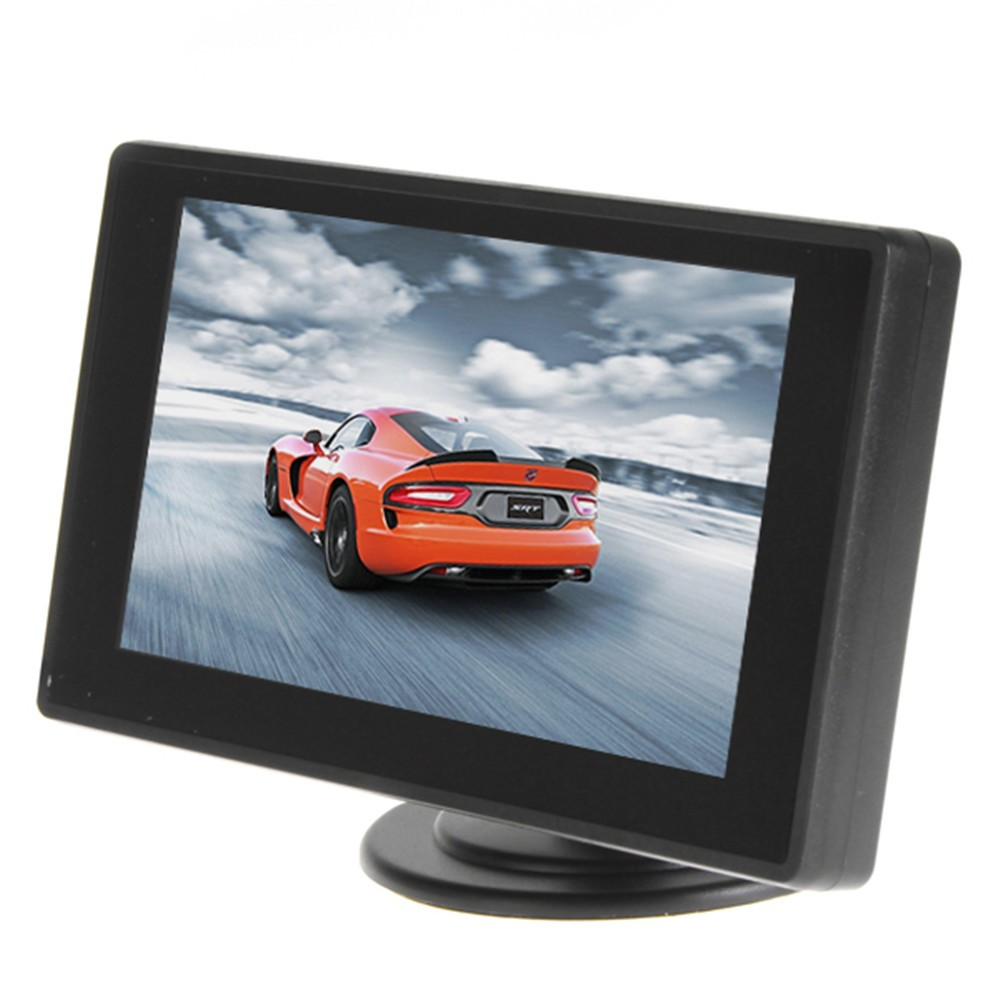 10Sets 4.3 Color Car Parking Kit With TFT LCD Car Monitor 480 x 272 Waterproof Rear View Car Camera For Reverse Parking