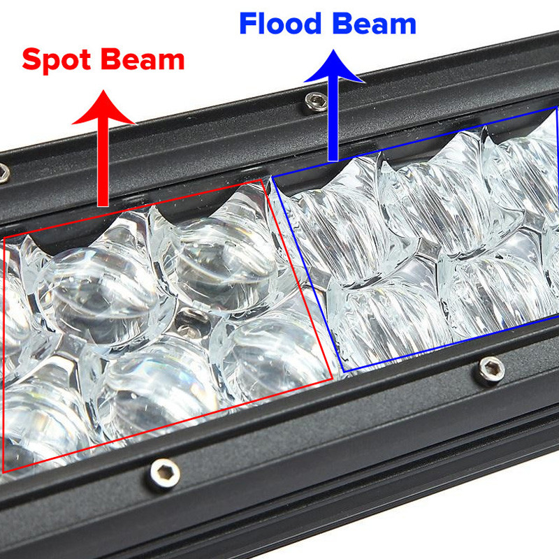 120W 12inch Led Chips Light Bar 5D Auto SUV Combo for Vehicle Driving Led Lamp Bar For Truck SUV Boat ATV Car Work Lights