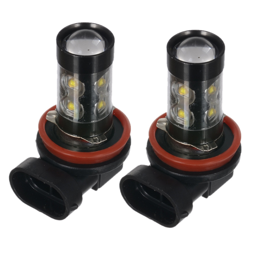 2x H11 950 Lm 50w 6000k Chips High Power Plug And Play Led Car Fog Headlamp Ampamp Foglamp 3s Light