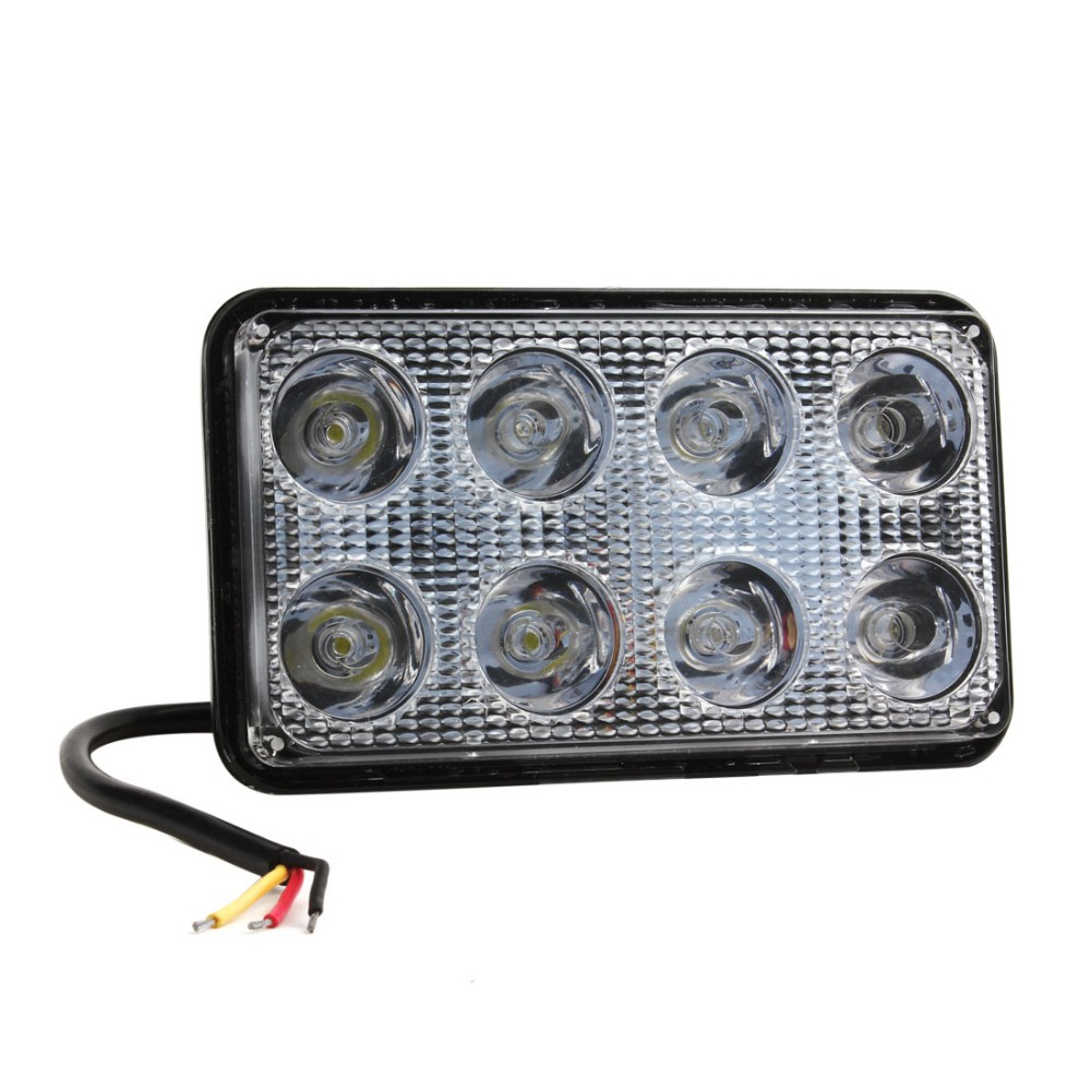 Waterproof 24W 1500LM High Power LED Car Work Light For Lighting on SUV ATV Truck Boat
