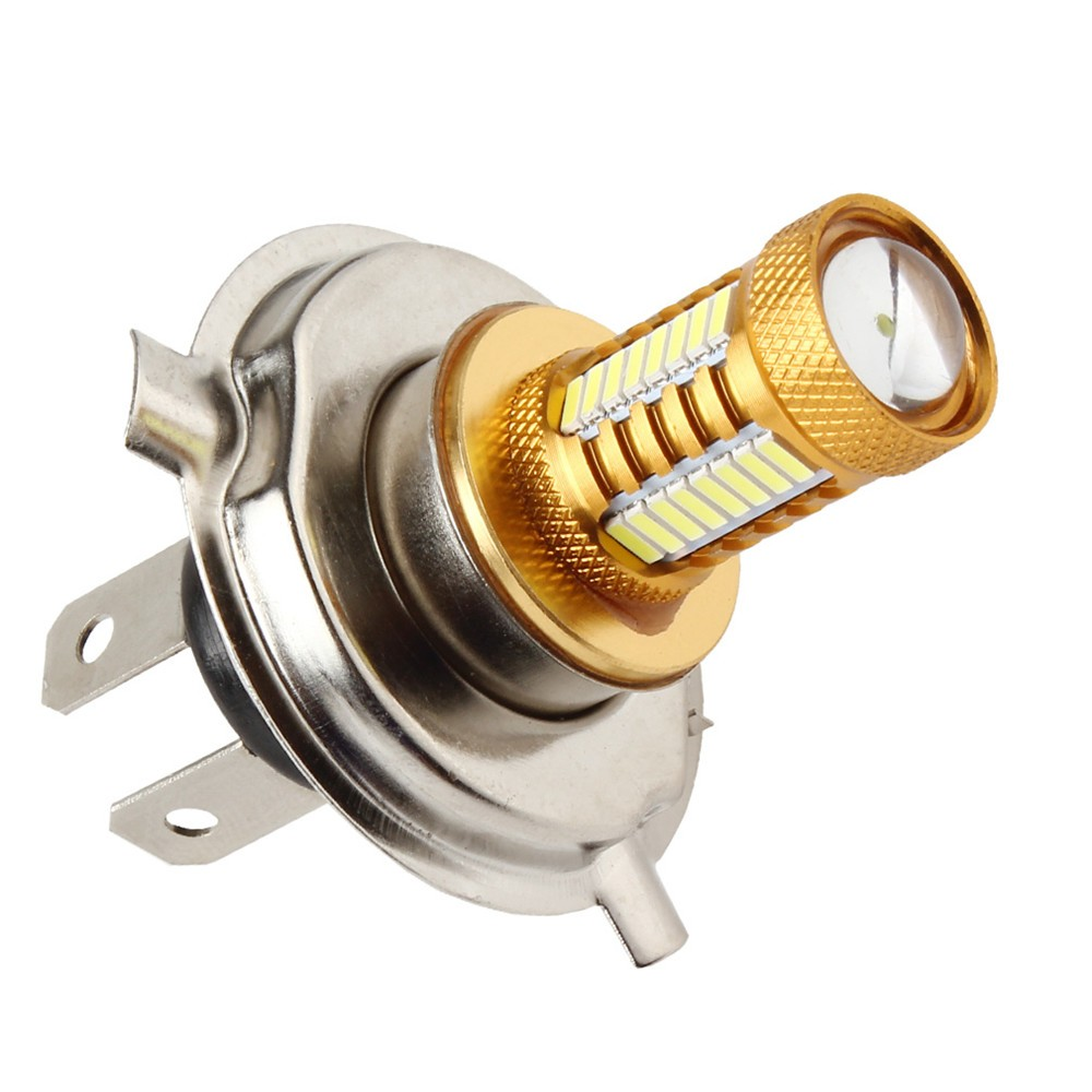 Sale DC12V 2x 12W H4 32 LEDs 3014 Bulb Car Fog Light 360 Degree 320Lm White Headlight