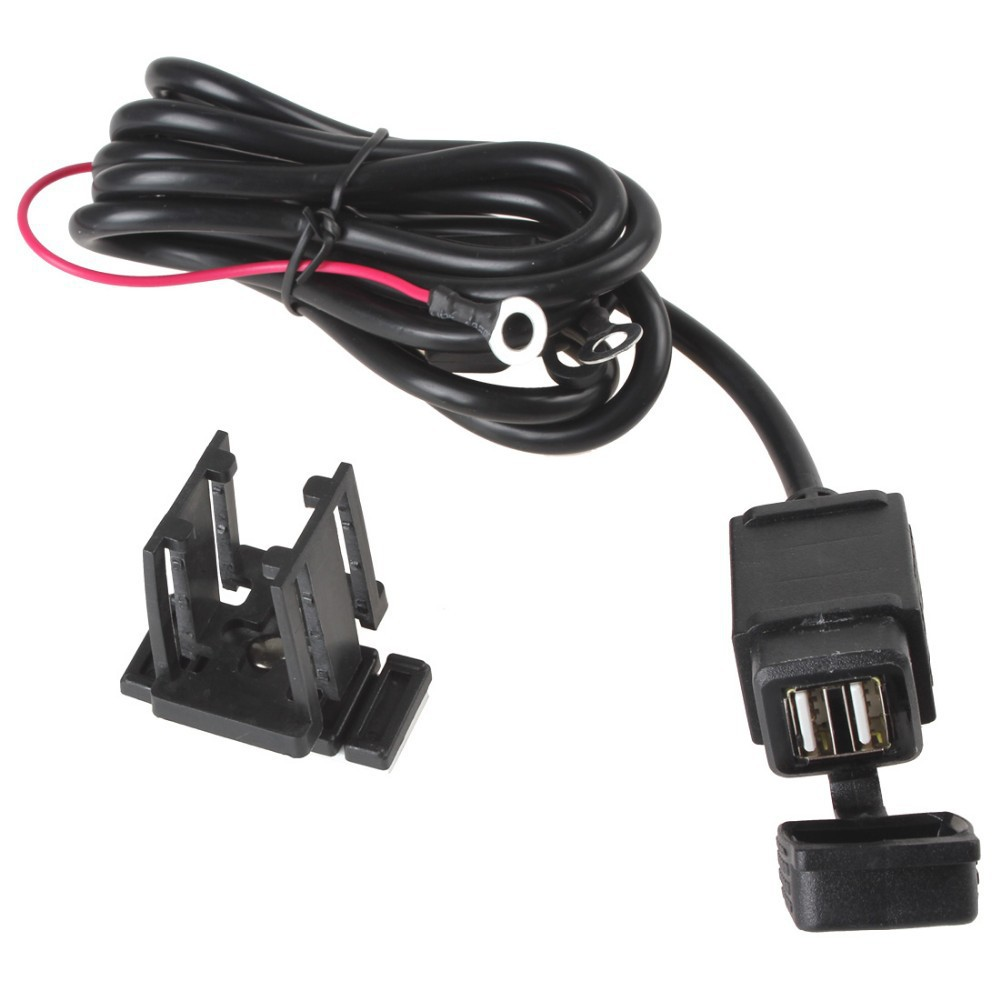 Motorcycle USB Mobile Phone Power Supply Port Socket GPS Charger Waterproof fo