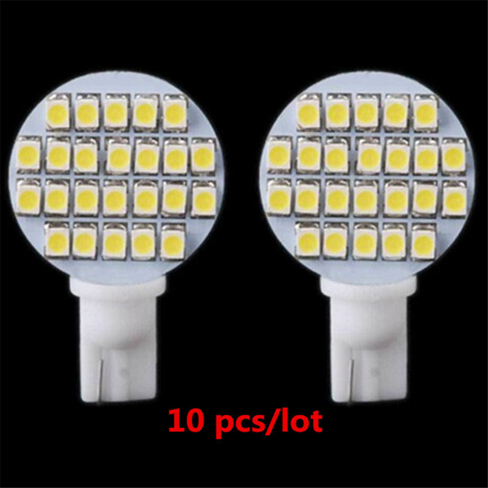 Multi function High Brightness Energy Saving White 10x 12V 24 SMD T10 921 194 RV Trailer Interior LED Light Bulbs