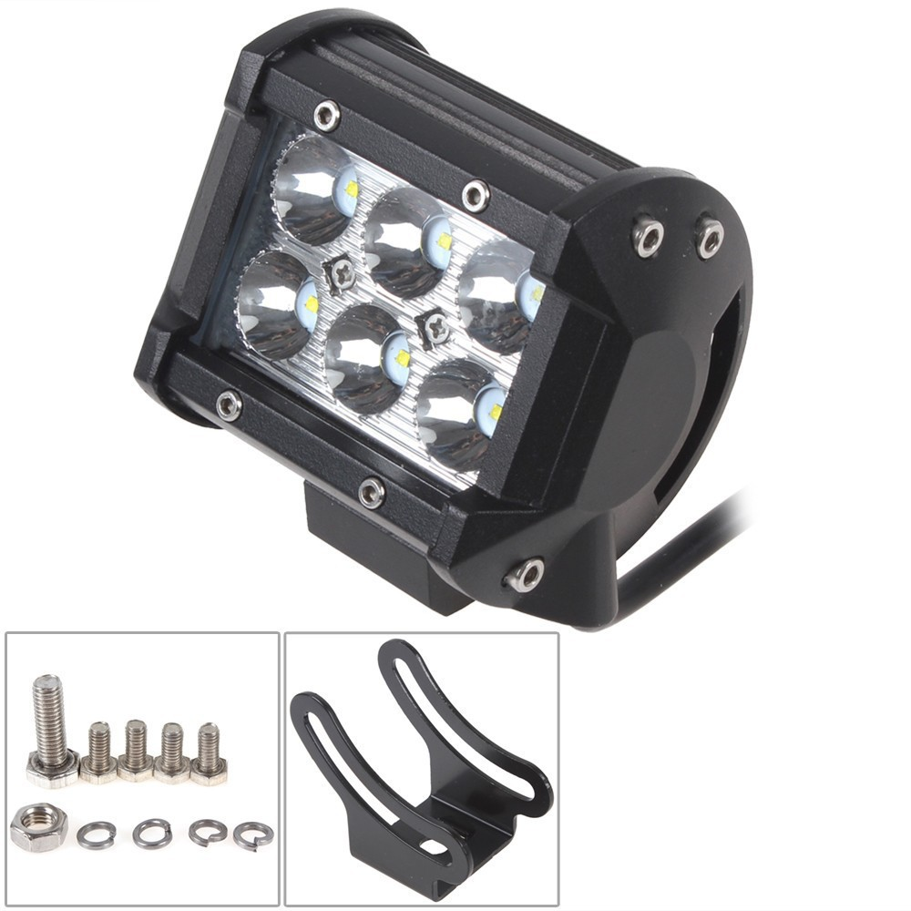 Sale 1440LM 18W LED Car Work Light Super Power Waterproof for Motorcycle Tractor Boat 4WD Offroad SUV ATV