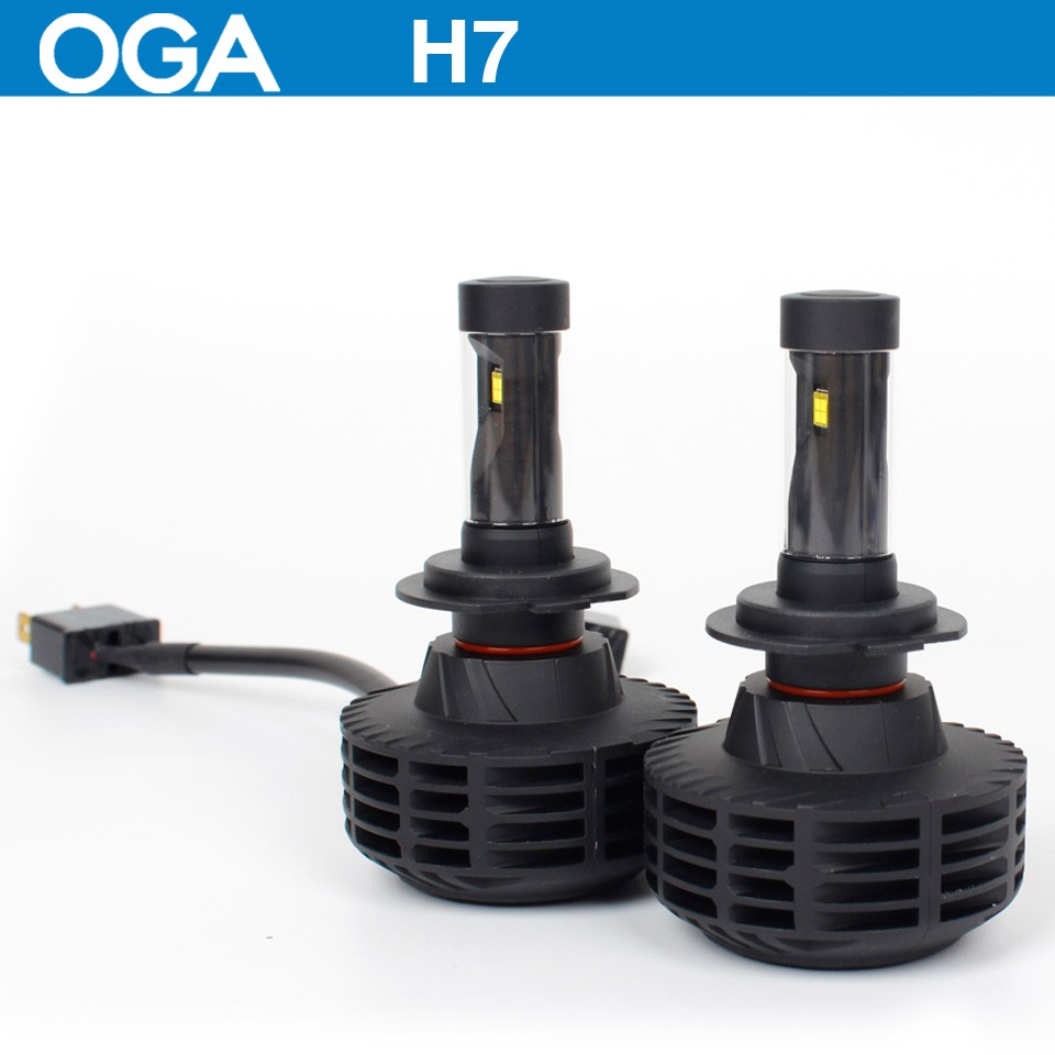 OGA 2PC 44W 6000LM For LUXEON MZ CREE LED chips Car LED Headlight Kit H4 HB2 9003 H7 H8 H9 H11 H13 9004 9005 HB3 9006 HB4 9007