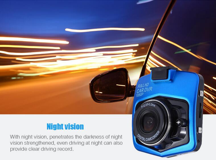 2016 Newest Mini Car DVR Camera GT300 Camcorder 1080P Full HD Video Registrator Parking Recorder G sensor Night Vision Dash Cam