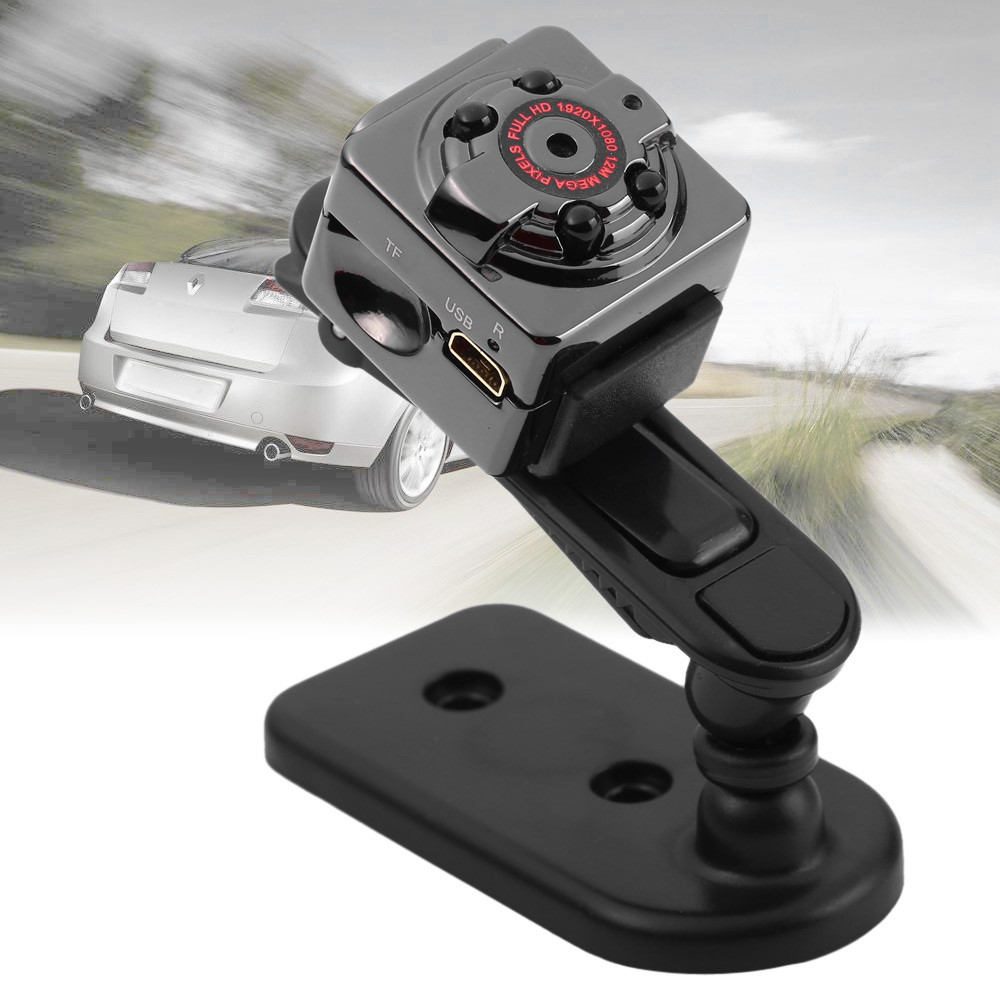 Otus SQ8 Ultra Mini Car DVR 1080P Full HD Class 10 Video Recorder DV Camera Motion Detection Camcorder with Mic