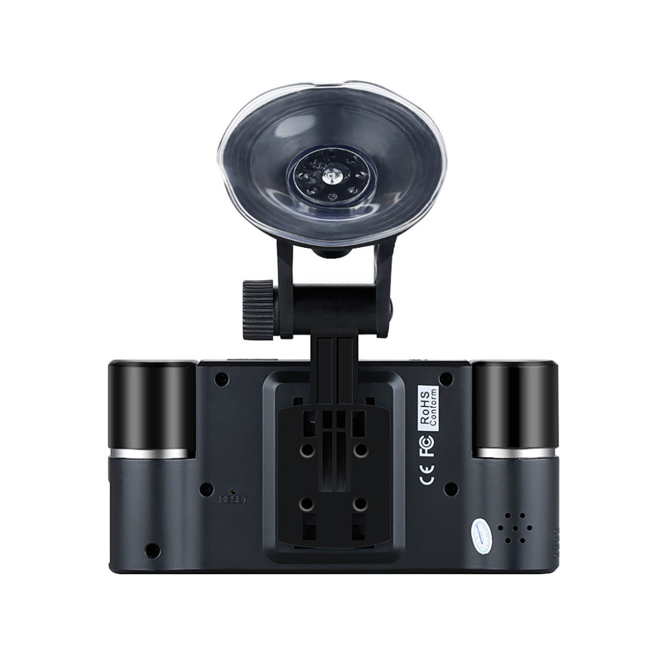 Carway F30 Car DVR 2.7 TFT LCD HD 1080P Dual Camera Rotated lens Vehicle Driving Digital Video Recorder Night Vision Camcorder