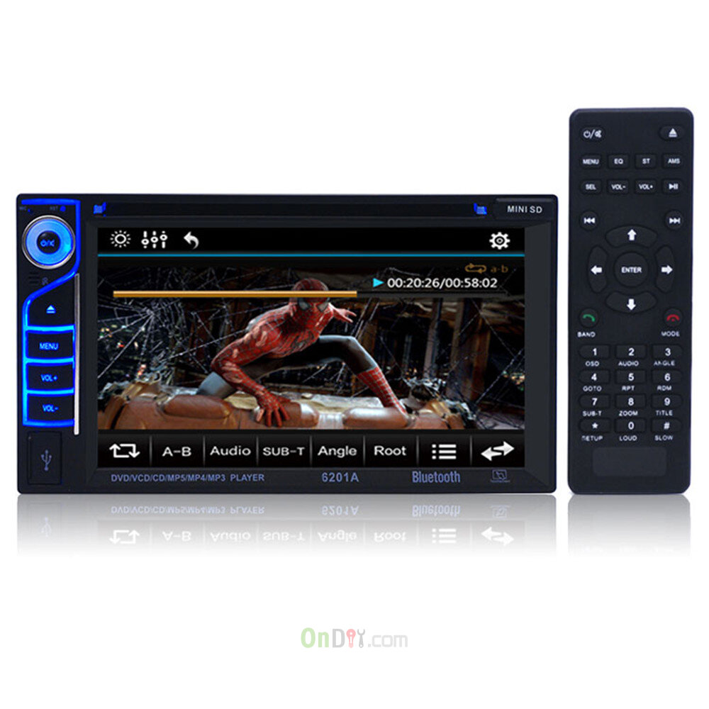 12v dc 62 inch 6201a audio dvd sb sd bluetooth microphone 2 din 12v dc 62 inch 6201a audio dvd sb sd bluetooth microphone 2 din car cd player with remote control support for fm function on diy publicscrutiny Images