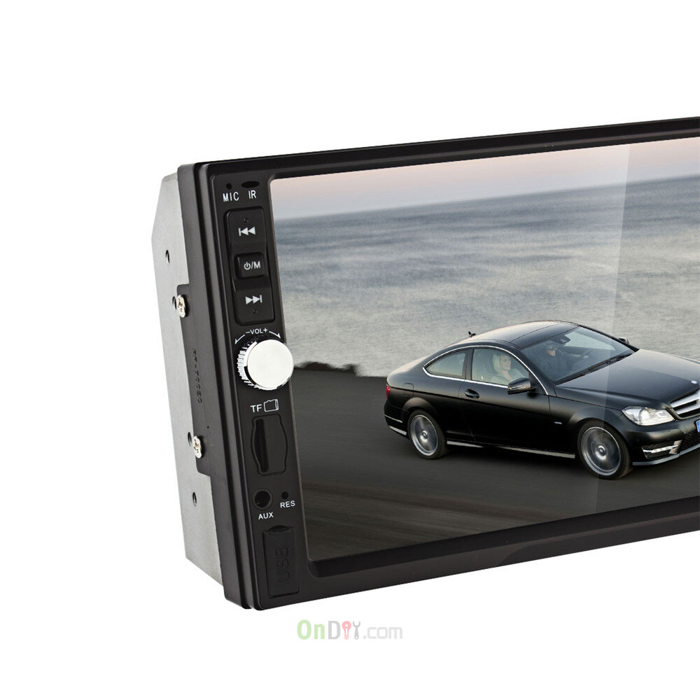 7012B 7 Inch Bluetooth TFT Screen Car Audio Stereo MP5 Player 12V