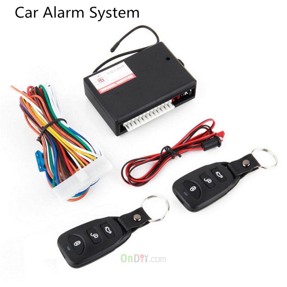 Universal Car Door Entry System Locking Remote Control Central